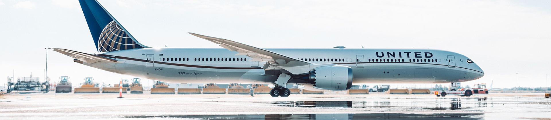 United Airlines Dreamliner