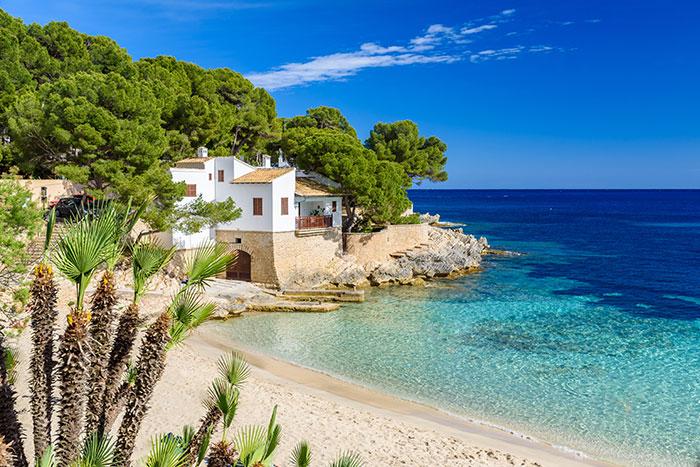 Mallorca on a sunny day