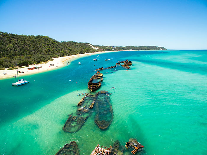 Tangalooma Beach, Queensland