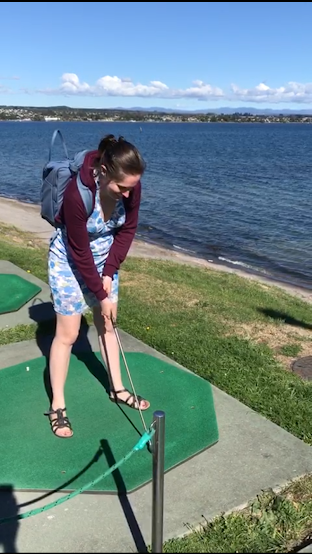 Lake Taupo Hole in One Margaret Donnellan