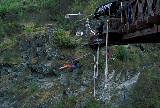 New Zealand - Queenstown Bungy Jumping