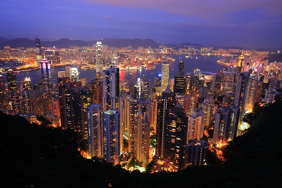 Hong Kong City from the Peak