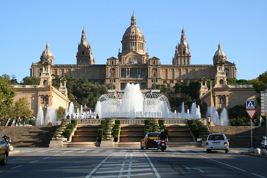 Magic Fountain_Montjuic Mountain_Barcelona
