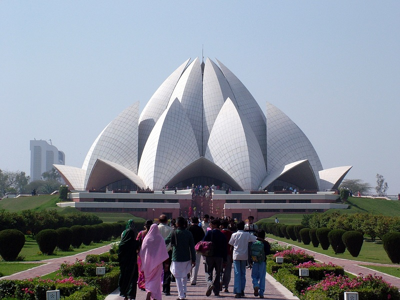 Bahai Temple, New Delhi, India
