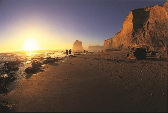 Sunset on Gibson Beach, Australia
