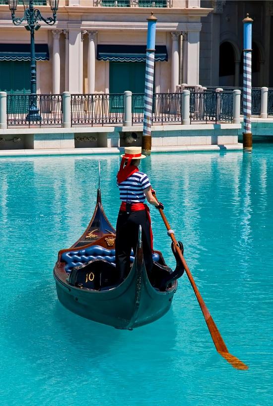 Las Vegas - Gondola at Venetian Hotel