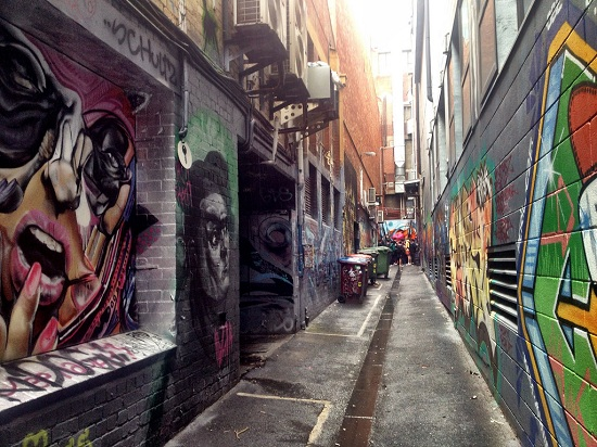 Melbourne Shopping and Street Art
