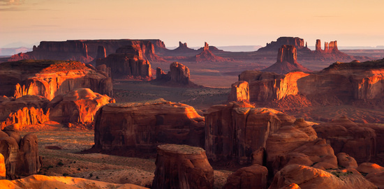 Monument Valley at Dusk, Utah