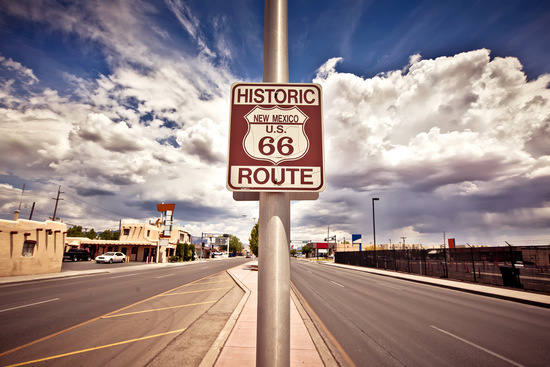Route 66 Sign, Nevada
