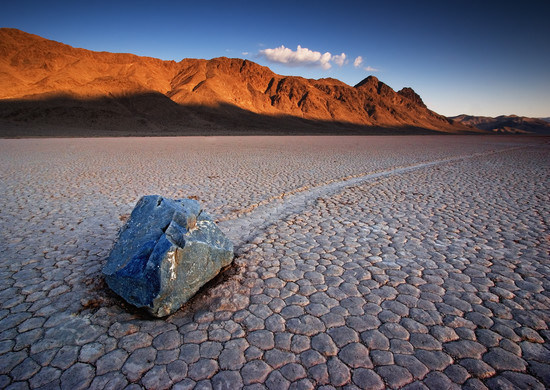 The Race Track at Death Valley National Park, Nevada