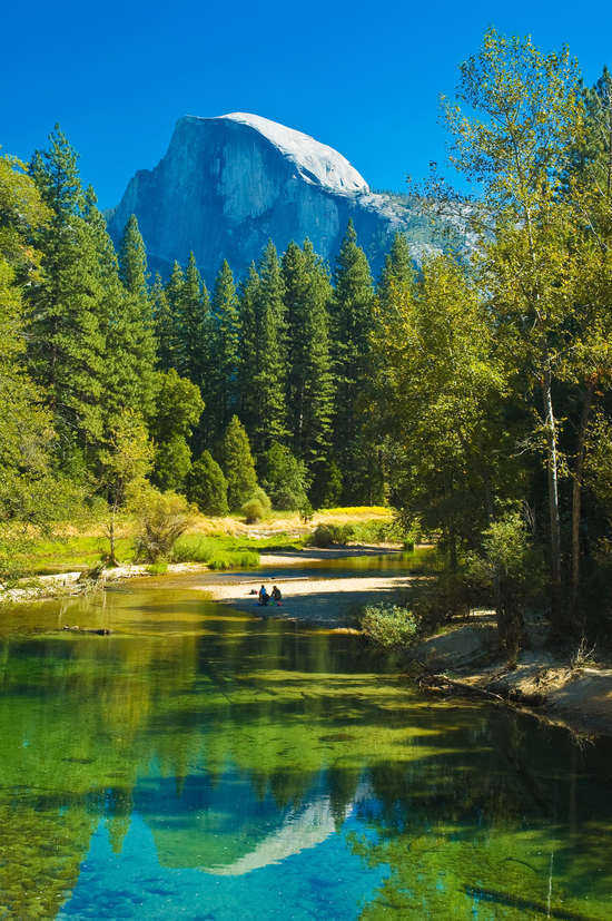 Yosemite Half Dome at National Park, California