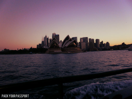 View from Manly Ferry
