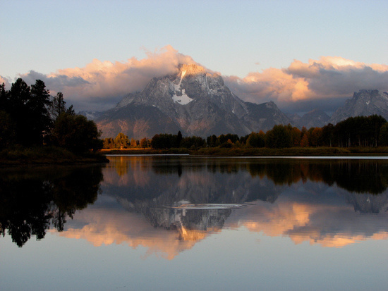 Landscape Photo Tips - Mountain Reflection on Lake