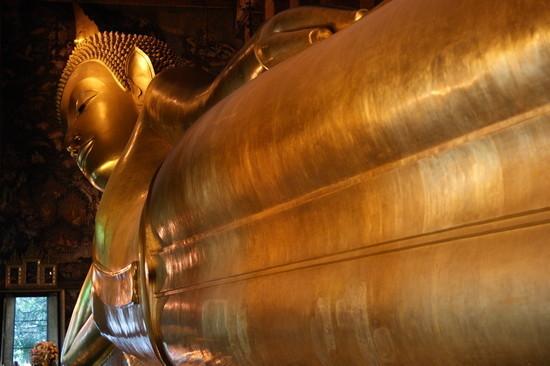 Gold Reclining Buddha, Bangkok