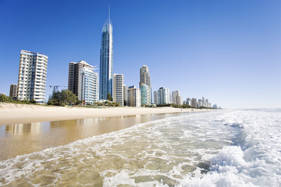 Q1 Tower, Gold Coast Beach, Queensland