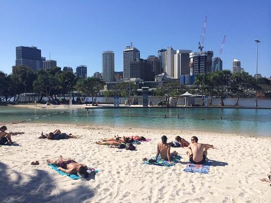 Streets Beach Brisbane