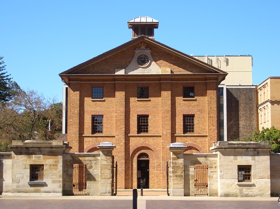 Hyde Park Barracks Sydney