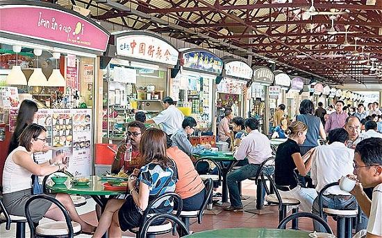 Maxwell Road Hawker Centre Singapore