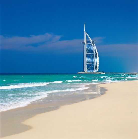 Vereinigte Arabische Emirate, Dubai: Strand, das Burj al Arab