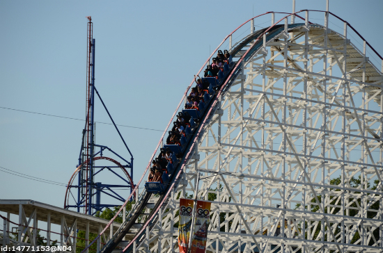 One hell of a ride: Experience the world-famous roller coasters at Six Flags Over Texas, Dallas