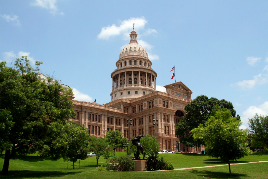 Cultural hub: the Texas State Capitol Building in Austin