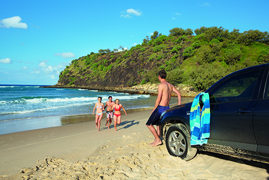 Stop whenever you feel like it on the Great Beach Drive – image © Australia