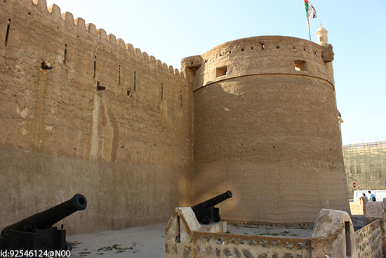 The Dubai Museum at Al-Fahidi Fort, the oldest building in the city