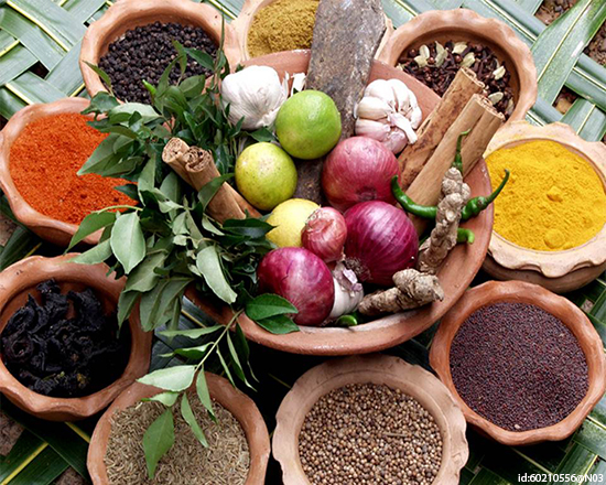 Try a heady hodgepodge of foods and spices