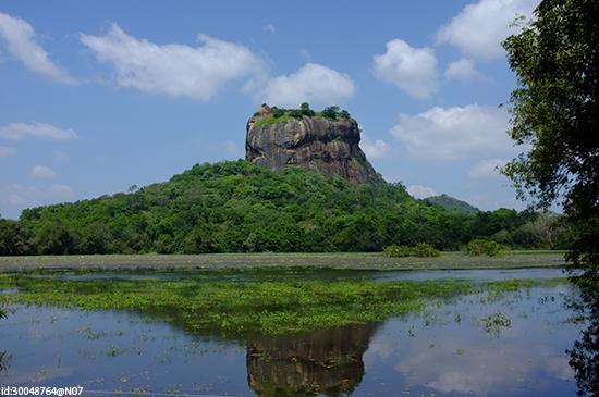 The UNESCO-listed Sigiriya rock fortress