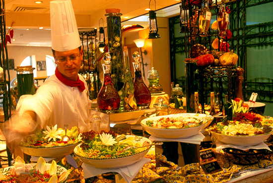 Dubai offers abundant dining opportunities