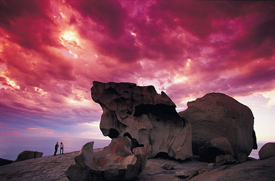 Look out for the Remarkable Rocks on Kangaroo Island