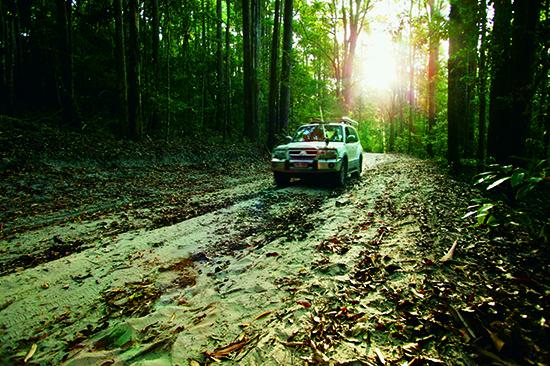 4x4 driving on Fraser Island – image © Australia