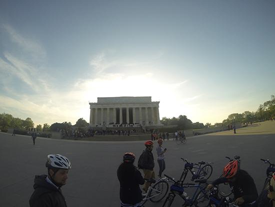 Explore Washington DC by bike