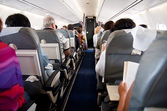 Generic Airplane interior with passengers RESIZED