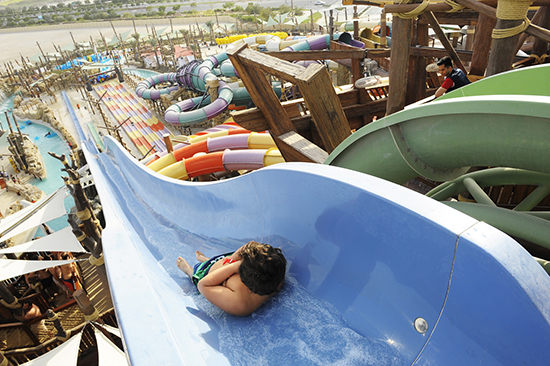 Yas Waterworld (Image: Abu Dhabi Tourism Authority)