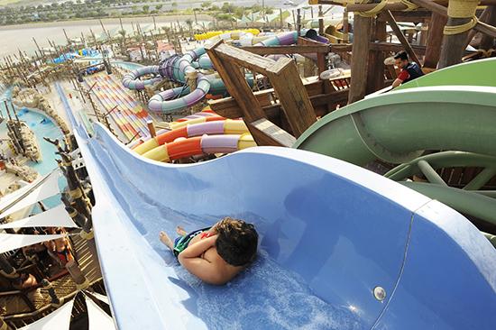 Yas Waterworld (Image: Abu Dhabi Tourism Authority)