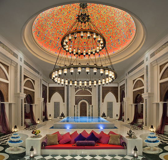 Get pampered at the Talise Ottoman Spa (Image: Jumeirah Zabeel Saray)