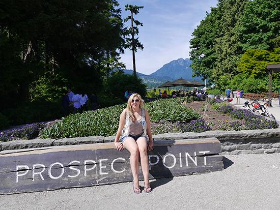 Prospect Point in Stanley Park (Image: Bradley Cronin)