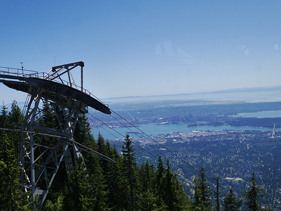 Grouse Mountain gondola (Image: Alexandra Gregg)