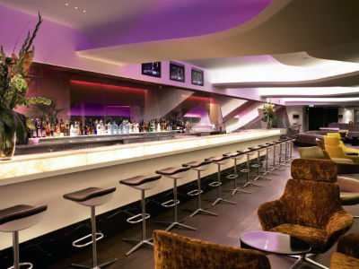Virgin Atlantic Clubhouse lounge