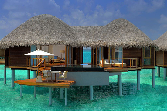 The world s best overwater bungalow escapes flight centre uk for Design hotel hawaii
