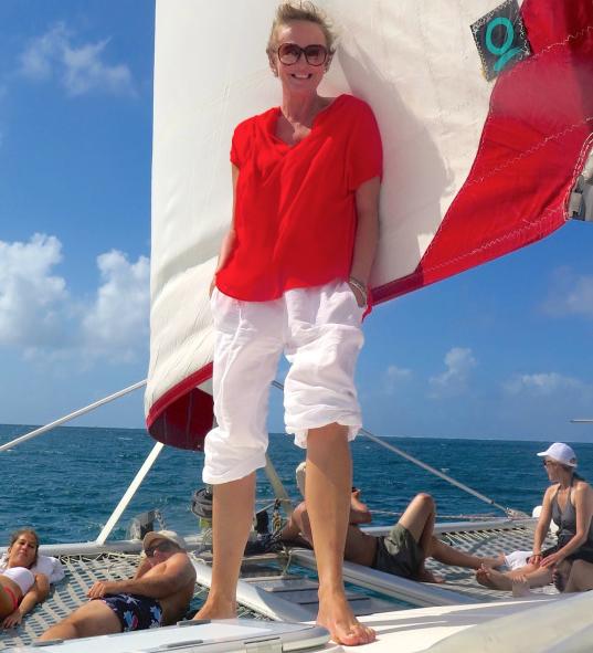 Dawn Jorgensen, RTWE Mauritius, Catamaran 2