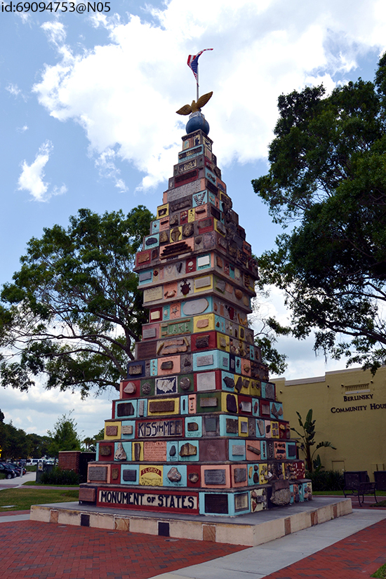 Monument of States in Kissimmee (Image: Flickr)
