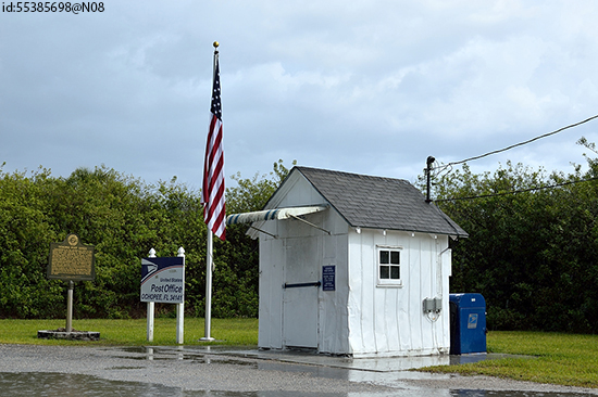 Ochee Post Office – the smallest in the USA (Image: Flickr)