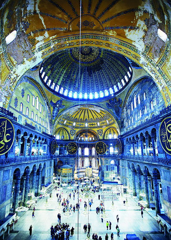 The blue hues of Aya Sofya in Spain (Image: Mark Read/Lonely Planet images)
