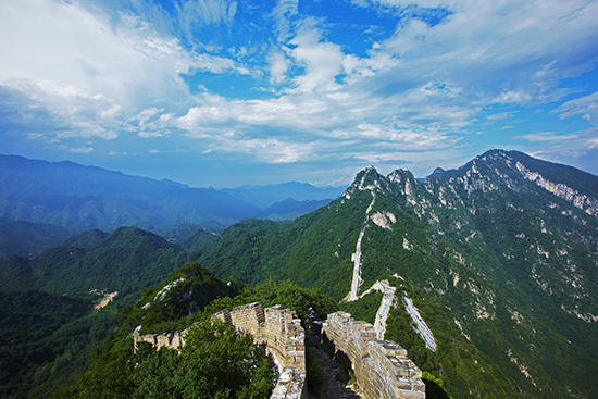 Jiankou section of Great wall of China (Image: Mark Read/Lonely Planet images)
