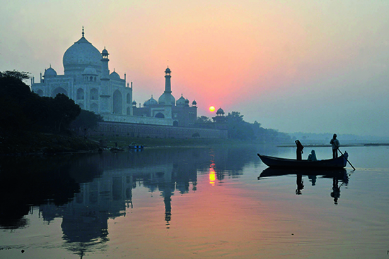 The riverside setting of the Taj Mahal (Image: Pete Seaward/Lonely Planet images)