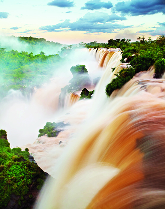The ethereal cascades of Iguazu Falls, straddling the Argentina-Brazil border (Image: Matt Munro/Lonely Planet images)