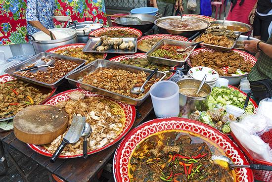 Delicious Thai street food