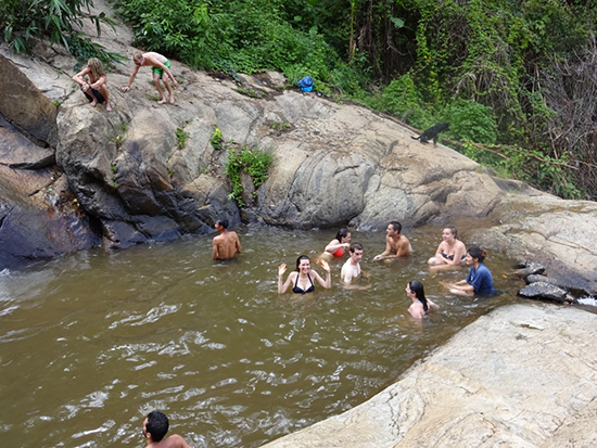 Cool off at the Mor Paeng Waterfall (Image: Clara & Suzannah Ramsdale)